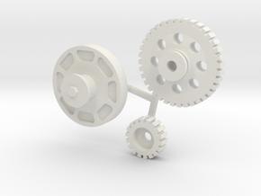 BBC Jesel Drive 1/8 in White Natural Versatile Plastic