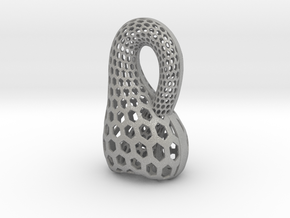 Klein Bottle Opener in Raw Aluminum