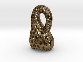 Klein Bottle Opener in Natural Bronze