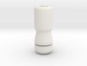 EMP Grenade in White Natural Versatile Plastic