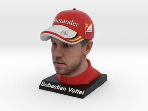 Sebastian 1/8 Head Figure in Full Color Sandstone
