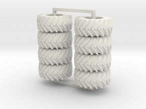 750/38-30  Trelli's, 8 tires in White Strong & Flexible