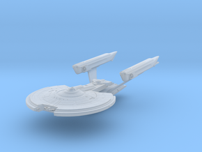 Norris Class  BattleCruiser in Smooth Fine Detail Plastic