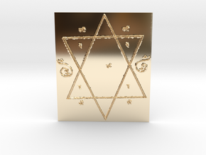 Lakshmi Yantra all Wishes Come True in 14K Gold
