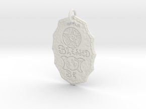 Blessed Be by ~M. in White Natural Versatile Plastic
