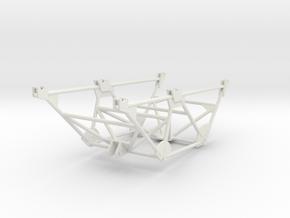 Katyusha Shortened Frame 1:35 scale in White Natural Versatile Plastic