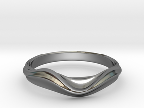 no.2 in Fine Detail Polished Silver: 5 / 49
