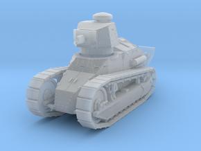 PV12B M1917 Six Ton Tank w/37mm Gun (1/100) in Smooth Fine Detail Plastic