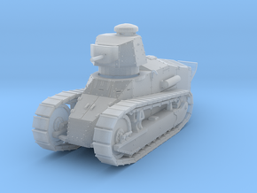 PV151C M1917A1 Six Ton Tank w/MG (1/87) in Smooth Fine Detail Plastic