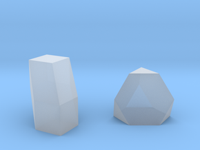 Geometric Rockz  in Smooth Fine Detail Plastic
