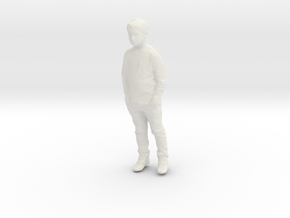 Printle Kid 041-w/o base in White Natural Versatile Plastic