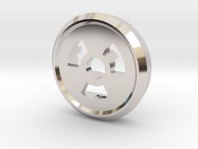Trit Nuke Ring Part Slim in Platinum