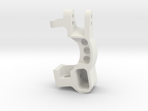 Slash 0deg Caster Block L in White Natural Versatile Plastic