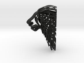 Lion SX in Black Natural Versatile Plastic