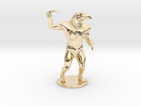 Hook Horror Miniature in 14K Yellow Gold: 1:60.96