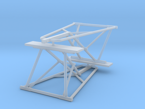 Jackstand Pair Short in Smooth Fine Detail Plastic