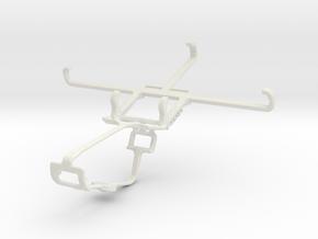 Controller mount for Xbox One & Intex Aqua Trend in White Natural Versatile Plastic