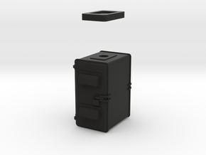NYC  Home Signal  Relay Cabinet in Black Natural Versatile Plastic