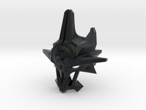 Mask Of Ultimate Power Villiger Scale in Black Hi-Def Acrylate