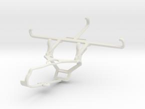 Controller mount for Steam & Posh Kick Pro LTE L52 in White Natural Versatile Plastic