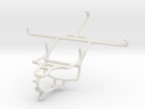 Controller mount for PS4 & Posh Titan Max HD E600 in White Natural Versatile Plastic