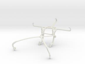 Controller mount for Shield 2015 & Posh Volt LTE L in White Natural Versatile Plastic