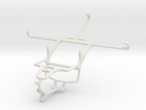 Controller mount for PS4 & Posh Volt Max LTE L640 in White Natural Versatile Plastic