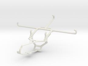 Controller mount for Steam & Posh Volt Max LTE L64 in White Natural Versatile Plastic