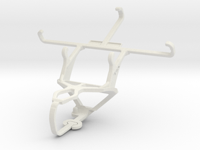 Controller mount for PS3 & QMobile A1 in White Natural Versatile Plastic