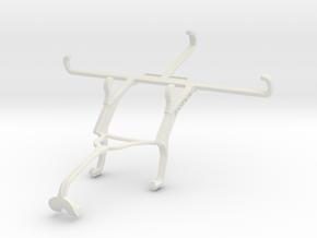 Controller mount for Xbox 360 & QMobile Linq L10 in White Natural Versatile Plastic