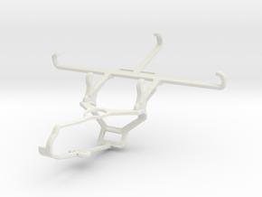 Controller mount for Steam & QMobile Linq L10 - Fr in White Natural Versatile Plastic