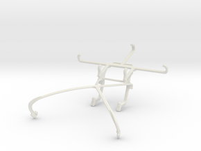 Controller mount for Shield 2015 & QMobile Linq L1 in White Natural Versatile Plastic