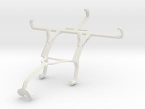 Controller mount for Xbox 360 & QMobile Linq X70 in White Natural Versatile Plastic