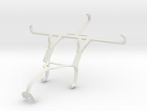 Controller mount for Xbox 360 & QMobile Noir S1 in White Natural Versatile Plastic