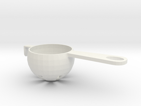 Egg Separator in White Natural Versatile Plastic