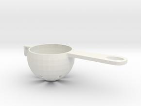 Egg Separator in White Natural Versatile Plastic