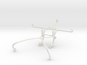 Controller mount for Shield 2015 & QMobile Noir Z9 in White Natural Versatile Plastic
