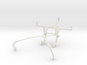 Controller mount for Shield 2015 & QMobile T200 Bo in White Natural Versatile Plastic