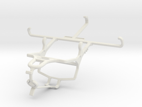 Controller mount for PS4 & Unnecto Bolt in White Natural Versatile Plastic