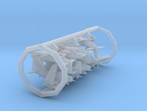 AD4/A-1 w/gear x8 (FUD) in Smooth Fine Detail Plastic: 1:700
