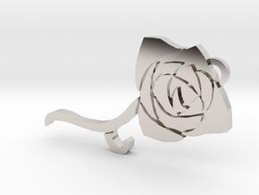 Toreador clan symbol pendant in Rhodium Plated Brass