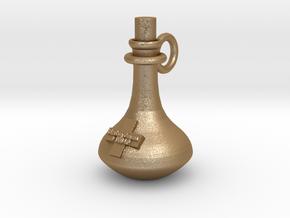 Healing potion in Matte Gold Steel