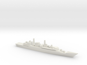 Type 22 Frigate, Batch 3, 1/1800 in White Natural Versatile Plastic