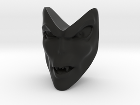 D&D Venger Speech Face in Black Natural Versatile Plastic