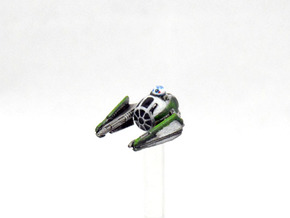 Yoda's Jedi starfighter in Frosted Extreme Detail