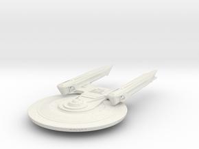 Baker Class V   Cruiser in White Natural Versatile Plastic