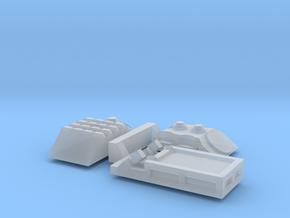 M577 Turret Variants in Smoothest Fine Detail Plastic