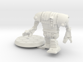 28mm/32mm Corig-8 droid with Arms in White Strong & Flexible