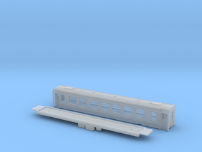 Passenger car type B-2L w/bogie in Frosted Ultra Detail