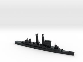 Albany-Class Cruiser, 1/1800 in Black Hi-Def Acrylate